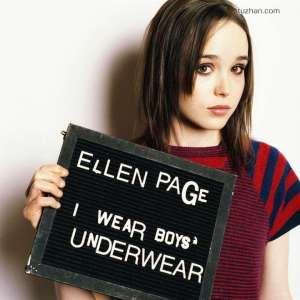 EllenPage underwear